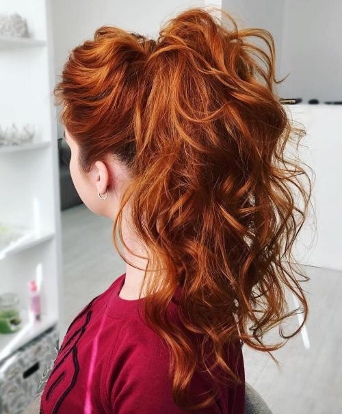 7 Curly Ponytail For Long Hair