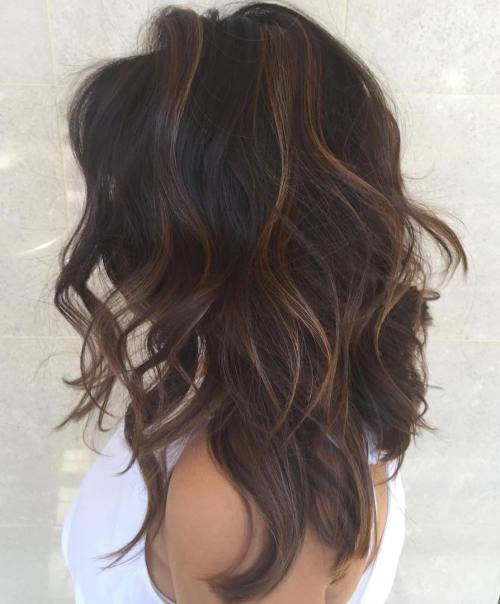 7 Long Layered Hairstyle With Subtle Highlights