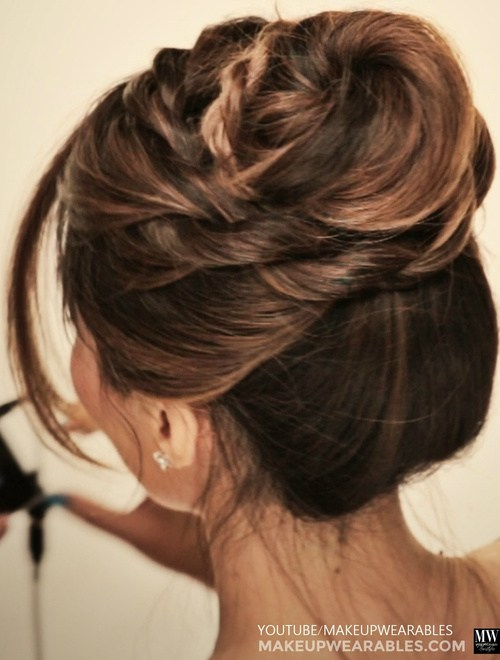 7 Mini Twist Updo