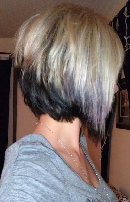 Best Two Colored Hair For Short Hairdo