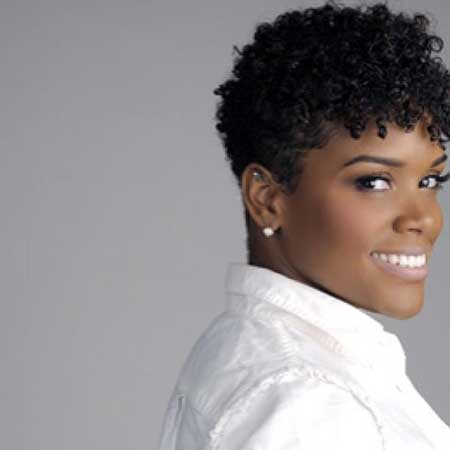 Black Short Curly Hairstyles 14