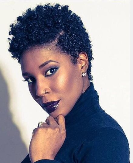 Black Short Curly Hairstyles 2018 39