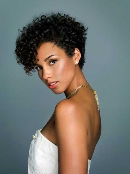 Black Short Curly Hairstyles 2018 4