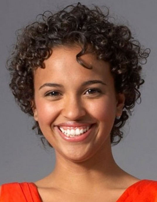 Black Short Curly Hairstyles 30
