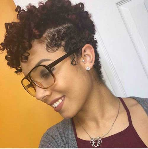 Black Short Curly Hairstyles 5