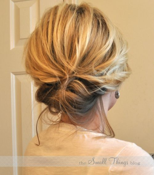 Casual Updos For Long Hair 14