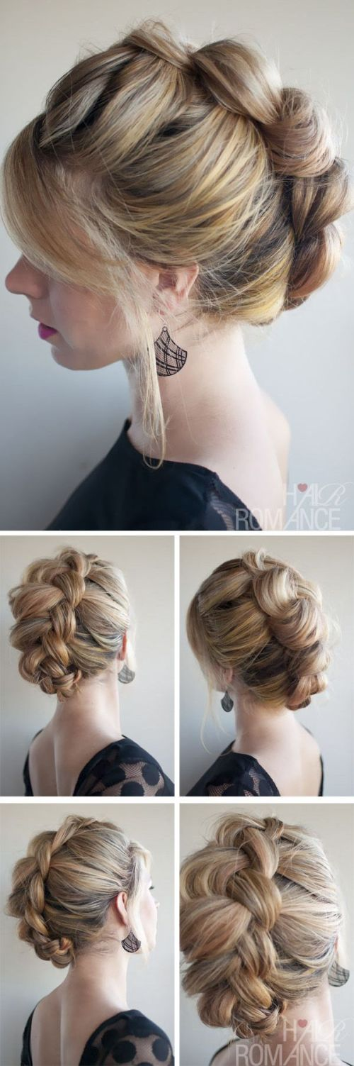 Casual Updos For Long Hair 16