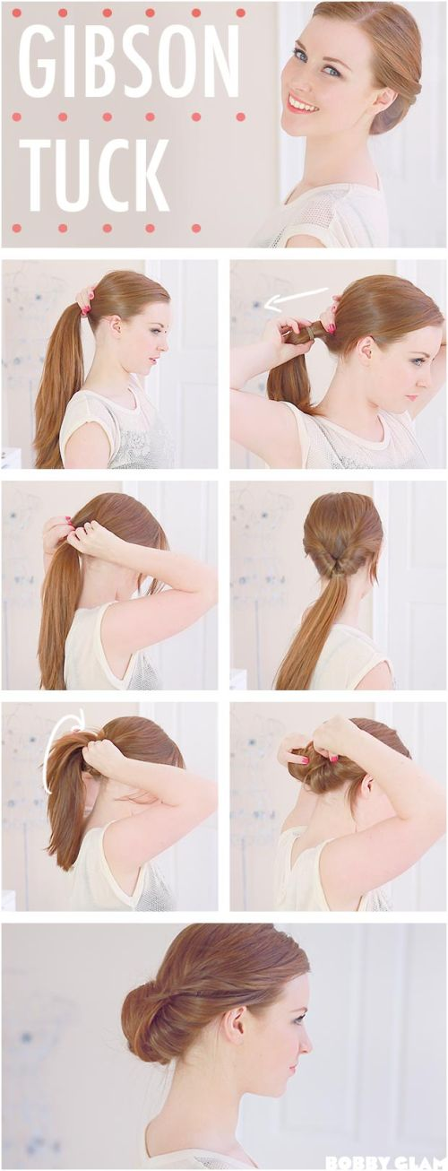 Casual Updos For Long Hair 30