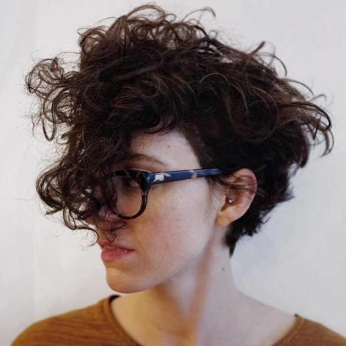 Curly Pixie Cuts 2018 1