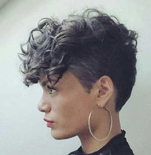 Curly Pixie Cuts 2018 2