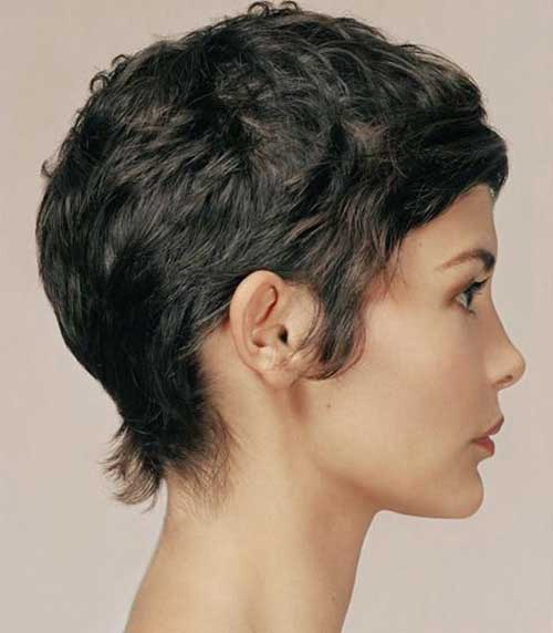 Curly Pixie Cuts 2018 25