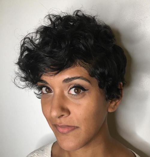 Curly Pixie Cuts 2018 3