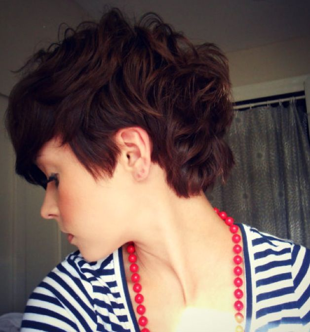 Curly Pixie Cuts 2018 31
