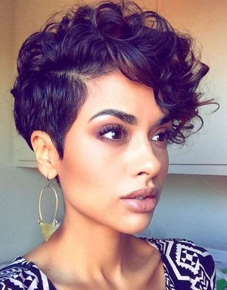 Curly Pixie Cuts 2018 4