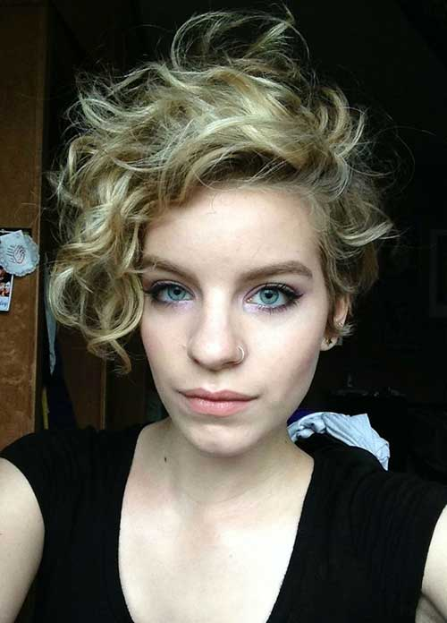 Curly Pixie Hair 26