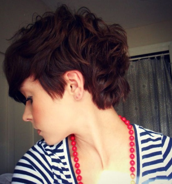 Curly Pixie Hair 32
