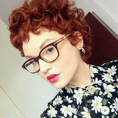 Curly Pixie Hair 5