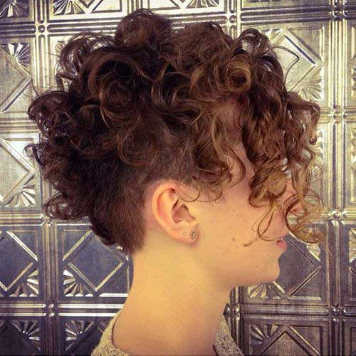 Curly Pixie Hair 55