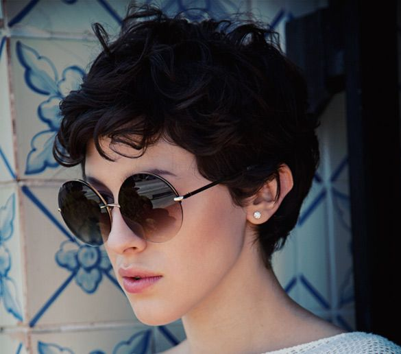 Curly Pixie Hair 56