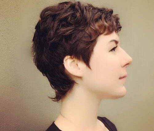 Curly Pixie Hair 7