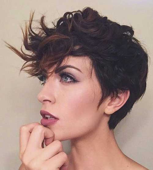 Curly Pixie Hair 8