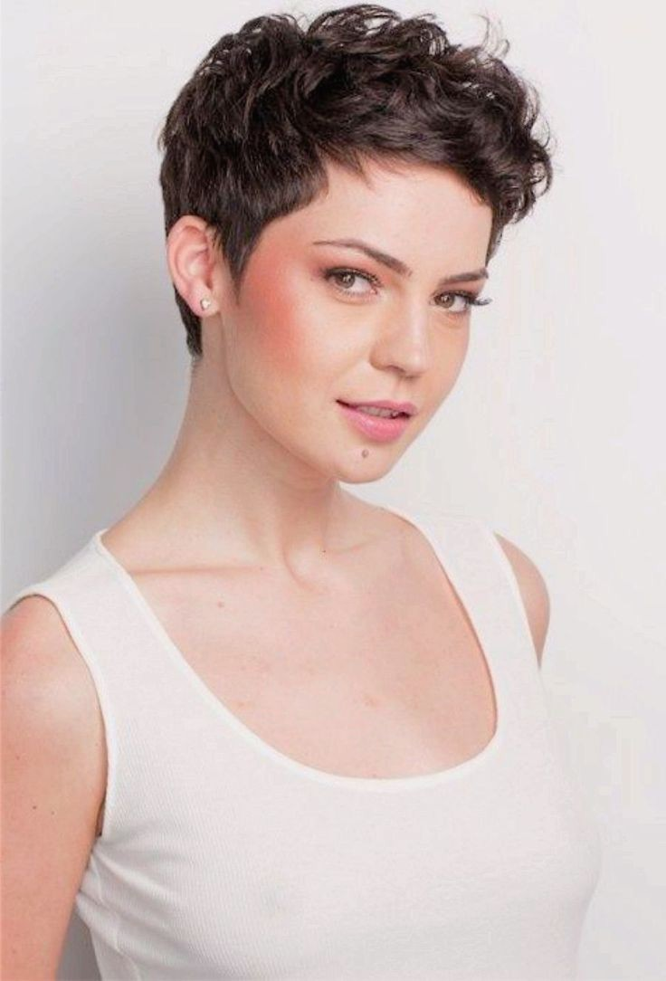 Top Cute Hairstyles For Curly Short Hair On Pinterest In Hairstyles For 2018