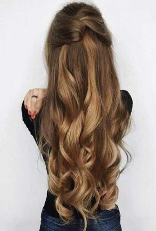 Hairstyles For Long Hair 2018 2