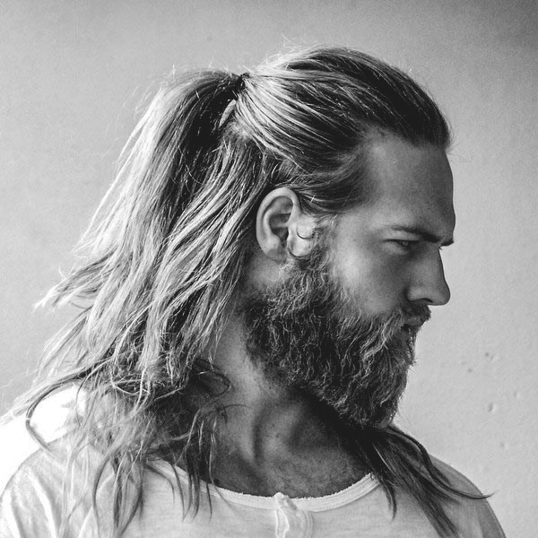 Hairstyles For Long Hair Men 22