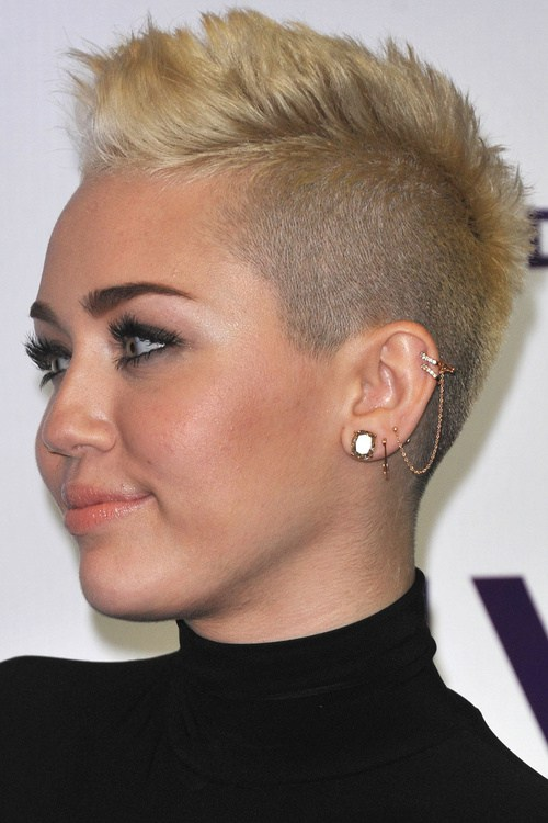 11 Very Short Mohawk Hairstyle For Women Hairstyles