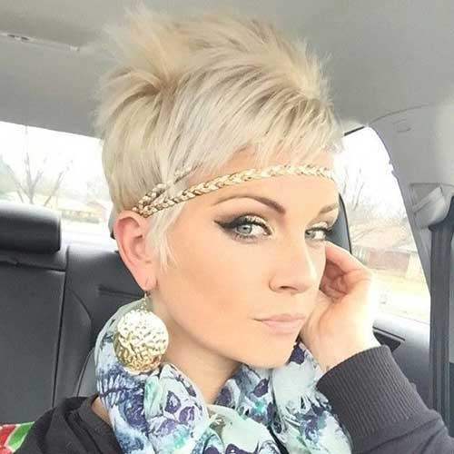 Blonde Pixie For Girl