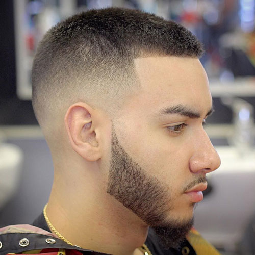 Buzz Cut With Shape Up And High F