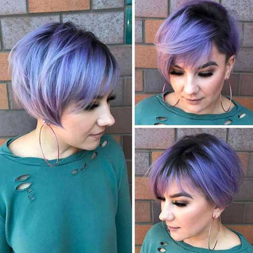 Color For Short Haircut