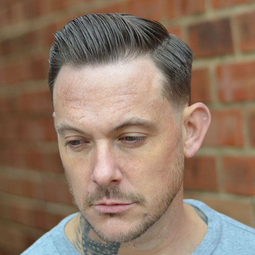Comb Over Low Fade