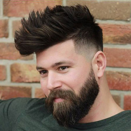 Fade Line Up Faux Haw
