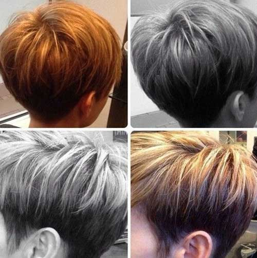 Hairstyles For Very Short Hair Female
