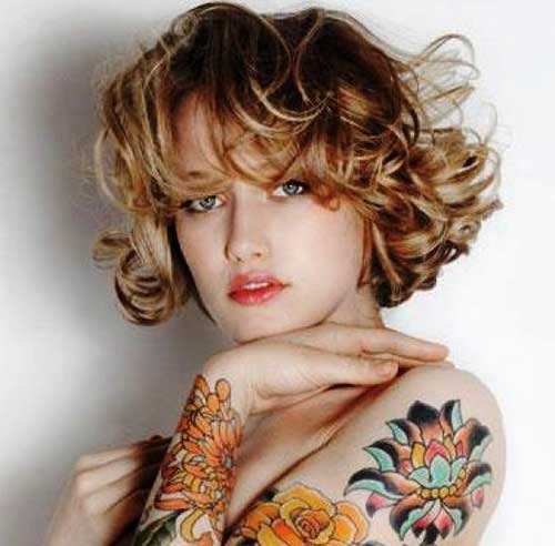 Images For Curly Pixie Hair