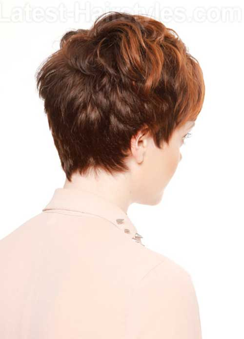 Images For Straight Pixie Cut Back