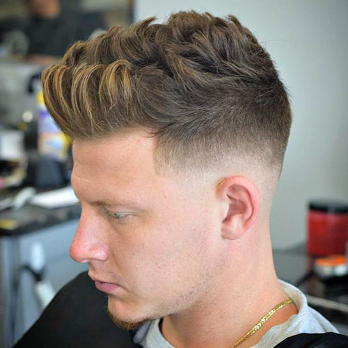 Low Fade With Quiff