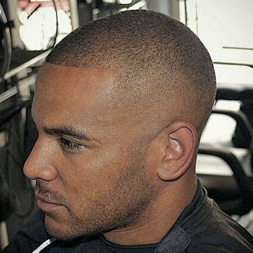 Shaved Sides With Buzz Cut - Hairstyles Fashion and Clothing
