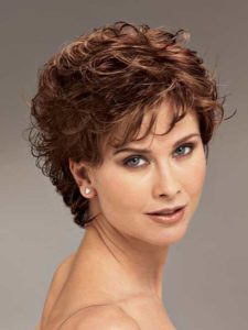 Short Curly Hair For Women Over 40