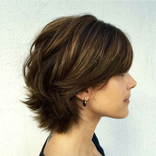 Short Hairstyles With Layers 1