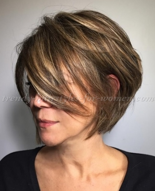 Short Hairstyles With Layers 14