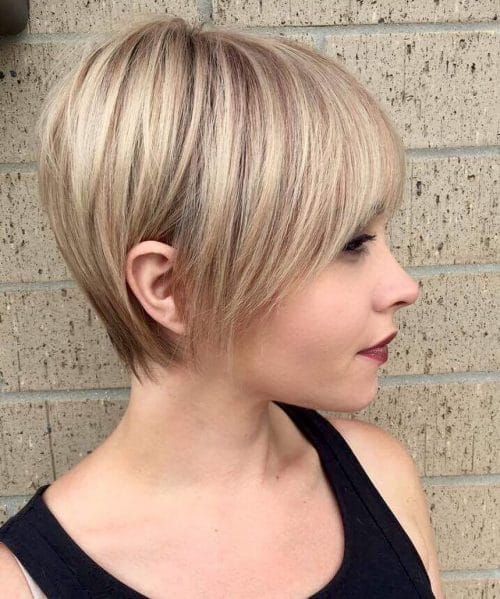 Short Hairstyles With Layers 29