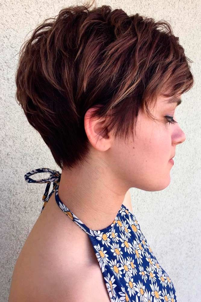 Short Hairstyles With Layers 3