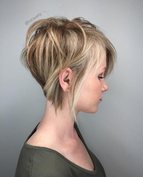 Short Hairstyles With Layers 9