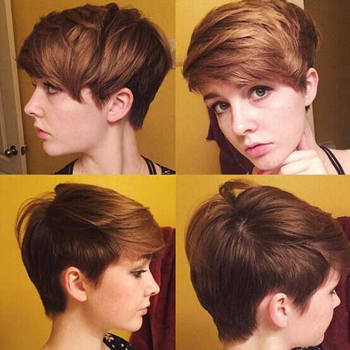 Short Trendy Hair For Girl