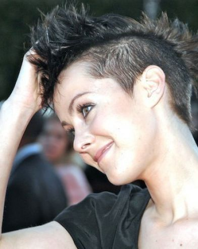 Very Short Female Hairstyles 24