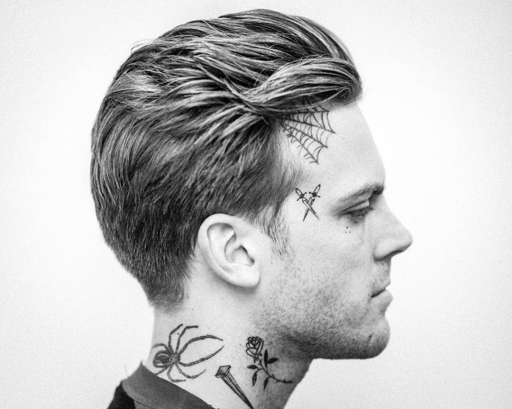 Andrewdoeshair Medium Mens Haircut With Slicked Back Flow 1024x818
