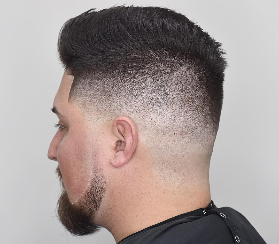 Drewdabarber Comb Over High Fade Haircut Line Up