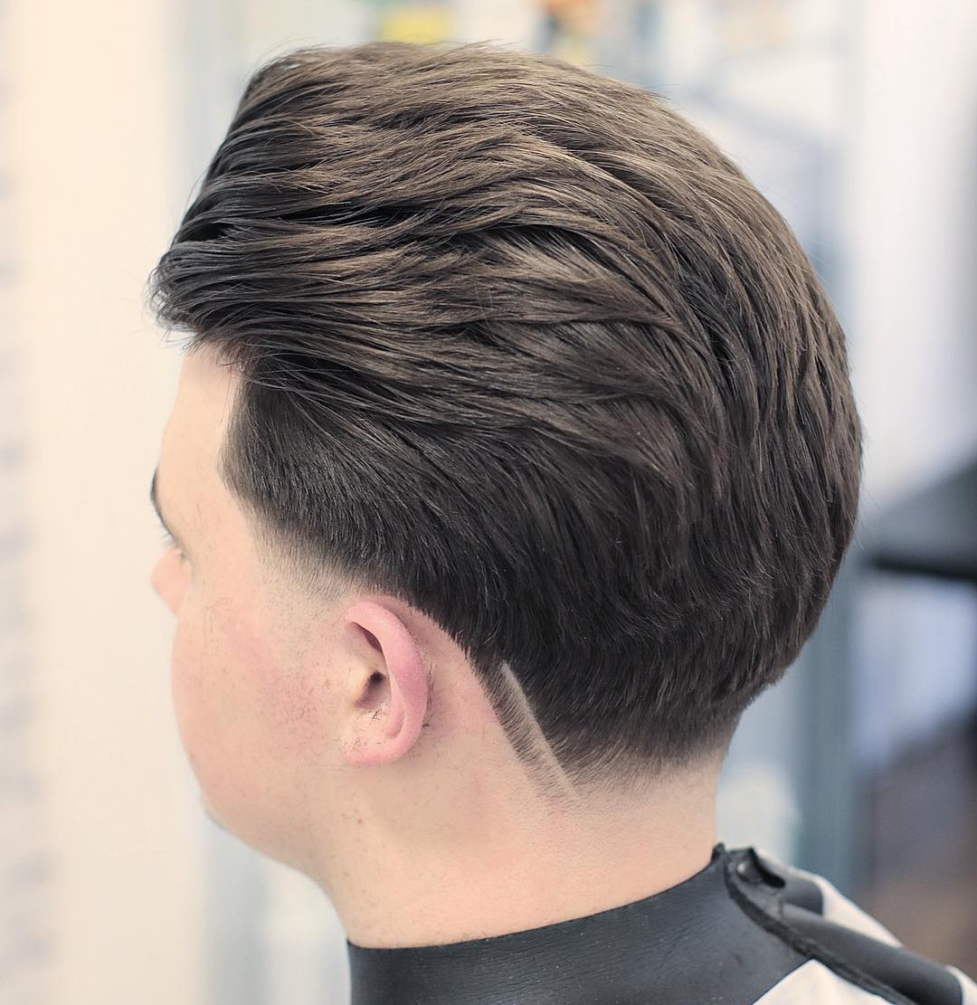 Kieronthebarber Neckline Design 2018 Taper Haircut